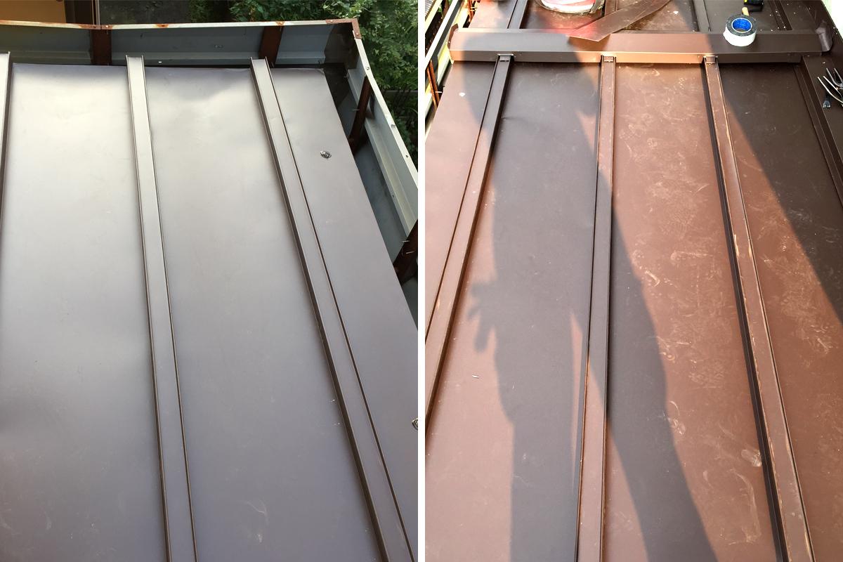 カバー工法屋根補修